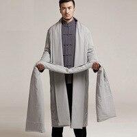 2018 кунг фу костюмы одеяния буддийских монахов Zen High end зимняя одежда костюм для медитации одежда ватные куртки центры около 15606
