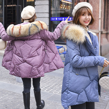 Brieuces X-Long 2020 New Arrival Fashion Slim Women Winter Jacket Cotton Padded Warm Thicken Ladies Coat Long Coats Parka Womens