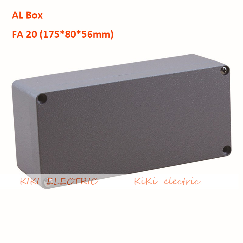 AL box IP67 Waterproof aluminium electronic box use for Switch /Junction Enclosure 175*80*56mm 6.89