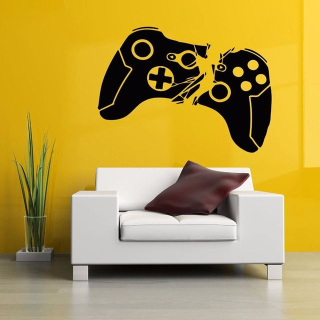 Video Game Sticker Play Decal Gaming Posters Gamer Vinyl Wall Decals ...