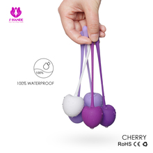 5pcs set Safe Silicone Kegel Exercise Ball Ben Wa Ball Vagina Tighten Trainer Massage Sex Toys