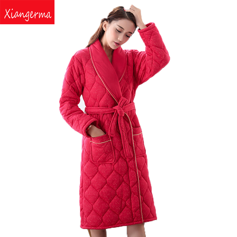ộ_ộ ༽Xiangerma Women Kimono Red Robes Women Floral Robes Pajamas ...