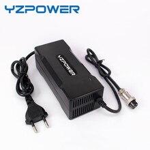 Cargador de batería de iones de litio eléctrico inteligente con ventilador integrado, 29,4 V, 3A / 4A/5A, para batería Lipo, herramienta eléctrica