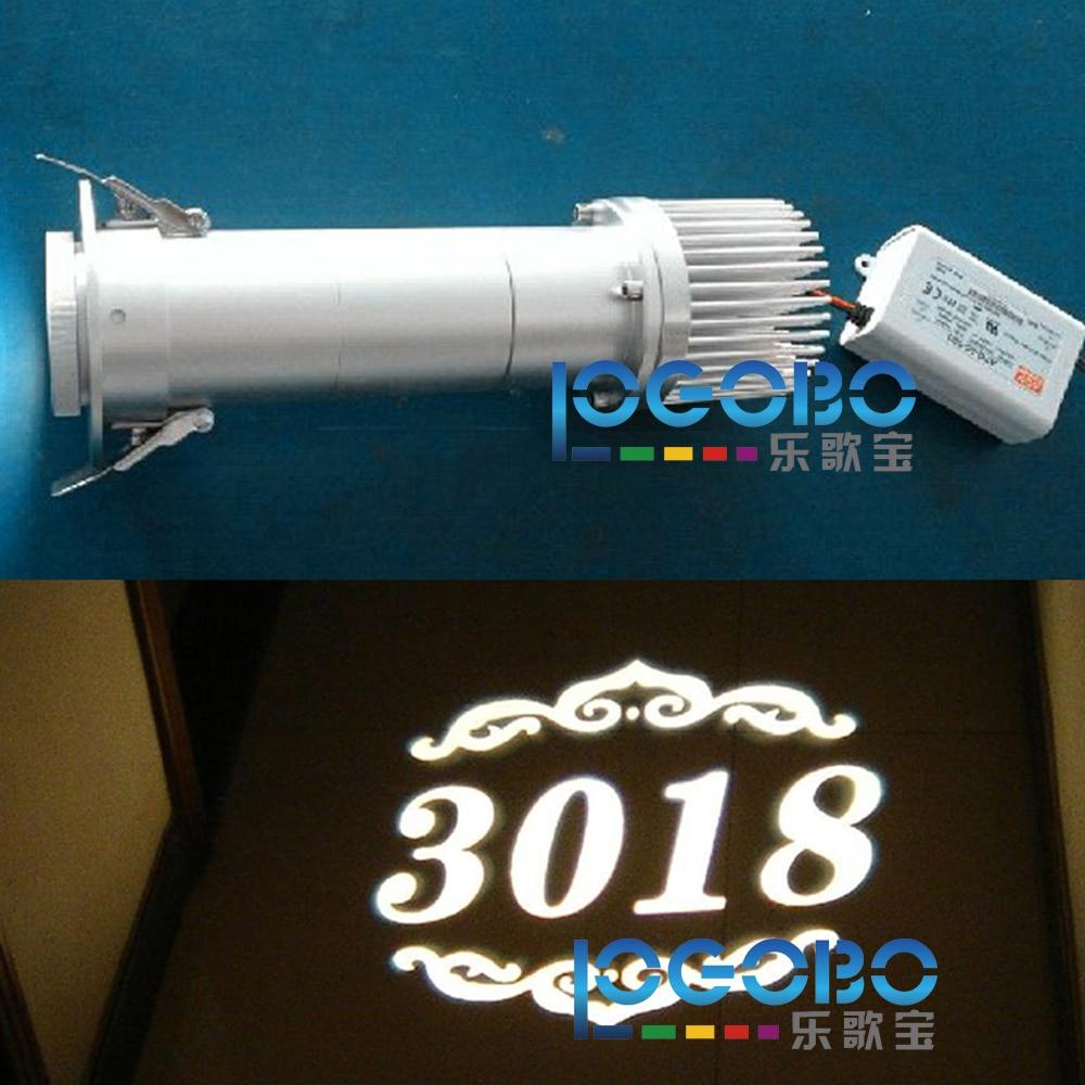 Gobo Projector Diy: Free Shipping DIY 20W LED Gobo Lighting Sign Monolight