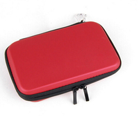 Red Color EVA Hard Travel Case Bag Pouch Skin Sleeve For Nintendo 3DS XL LL Red