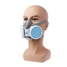 Респиратор против пыли, маска, фильтр, промышленное распыление краски, защитная Лицевая панель