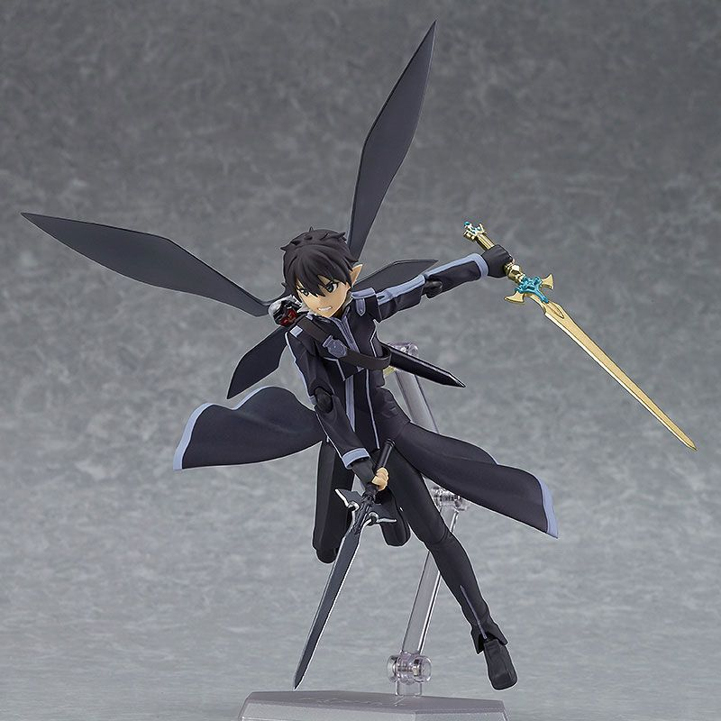 Huong Anime Figure 15 CM  Sword Art Online 2 kirigaya kazuto Figma 289 ALO ver. PVC Action Figure Model Collectibles Toys