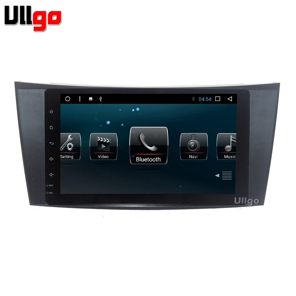Núcleo octa Android 8.1 Unidade de Cabeça Do Carro para Mercedes Benz G/E Classe W211 W463 W209 W219 Autoradio GPS com Espelho-Link Wi-fi BT RDS