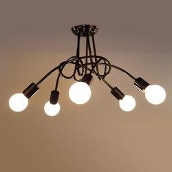 Loft amerykański styl Retro pułap światła na życie w rzymie jadalnia restauracja domu proste kreatywnych studiów pokój u nas państwo lampy sypialnia