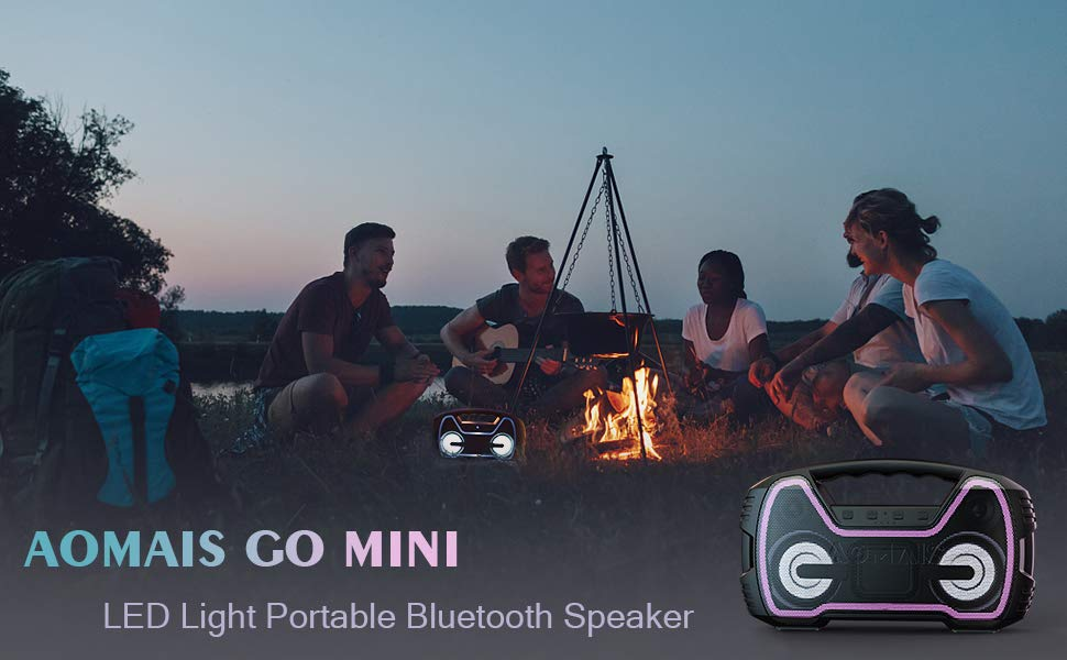 Mini Bluetooth Speaker with Light 1