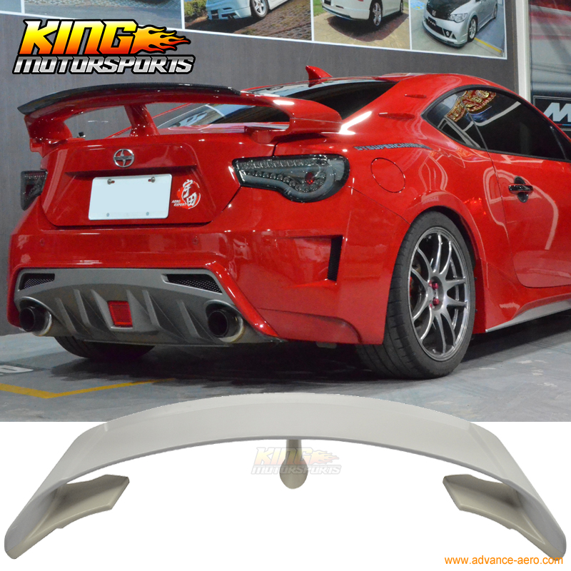 Fit For 13 16 Frs Brz G Style Rear Trunk Spoiler Lip Wing
