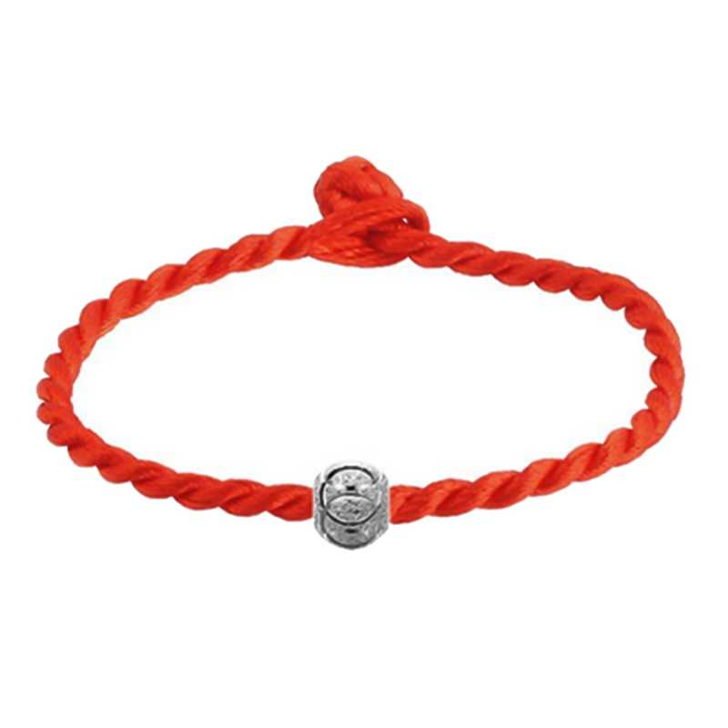 Trendy Red Thread Bracelets Simple Transfer Beads Bracelet Accessories Rope Bracelet Red String Jewelry Lucky Bracelet For Women