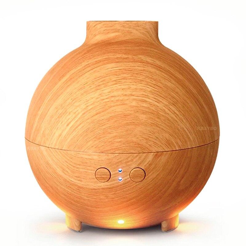DEKAXI 600 ml humidificateur d'air à ultrasons électrique brumisateur diffuseur d'arôme aromathérapie à l'huile essentielle avec lumière LED