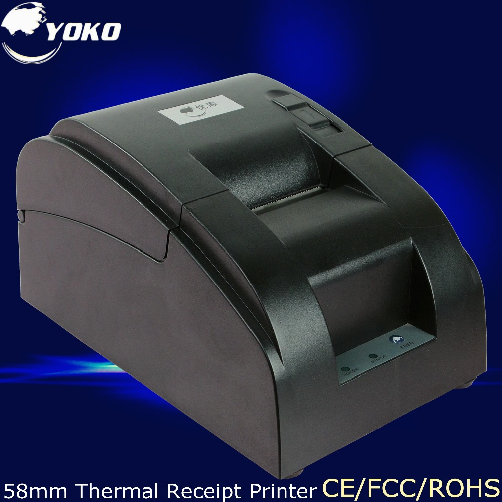 Thermal Receipt Printer Design for cash register USB LPT PS 2 interface all kinds of mode