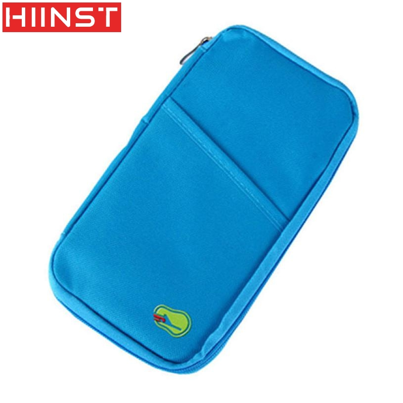 Travel Multifunction Bag Pouch Passport ID Credit Card Wallet Cash Holder Case Designer Wallets Famous Brand High Quality
