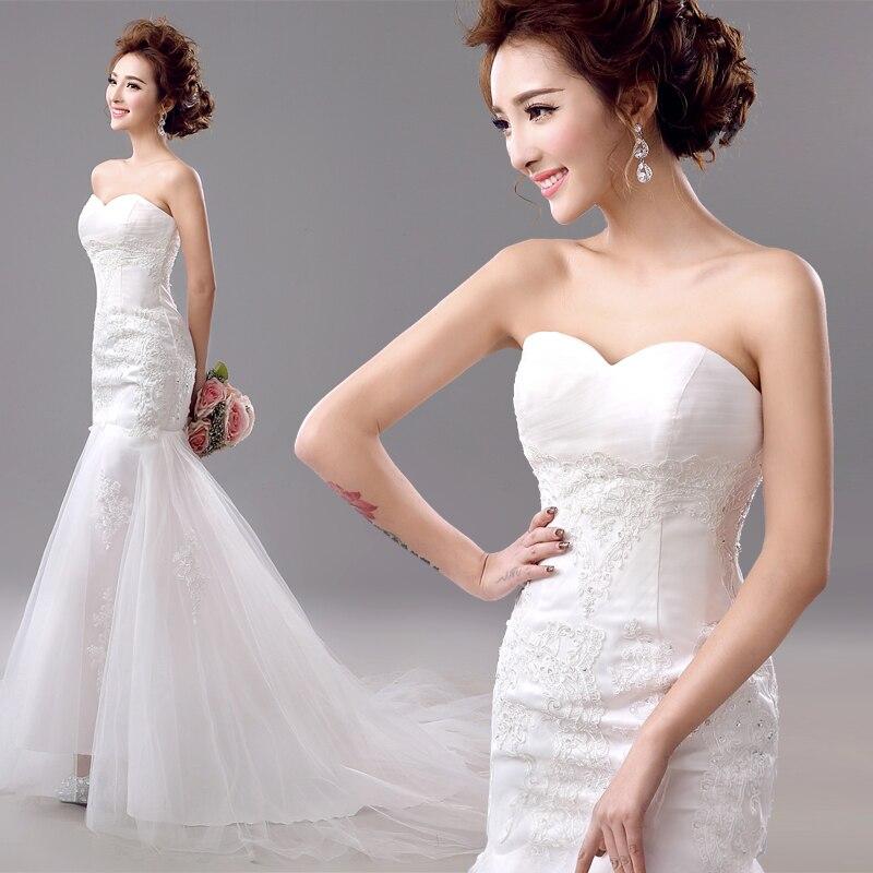Risque Wedding Dress Photos: S 2016 New Stock Plus Size Women Bridal Gown Wedding Dress