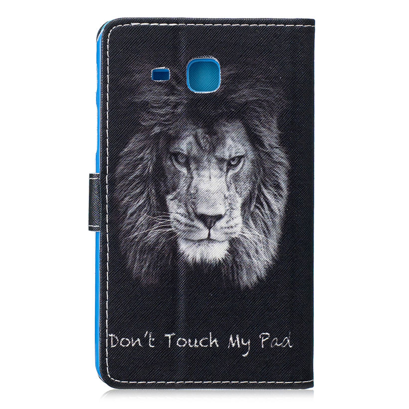 2016 Tab A6 7.0 Case Funda For Samsung Galaxy Tab A 7.0 Inch T280 T285 SM-T285 Cover Fashion Animal Painted Flip Stand Shell