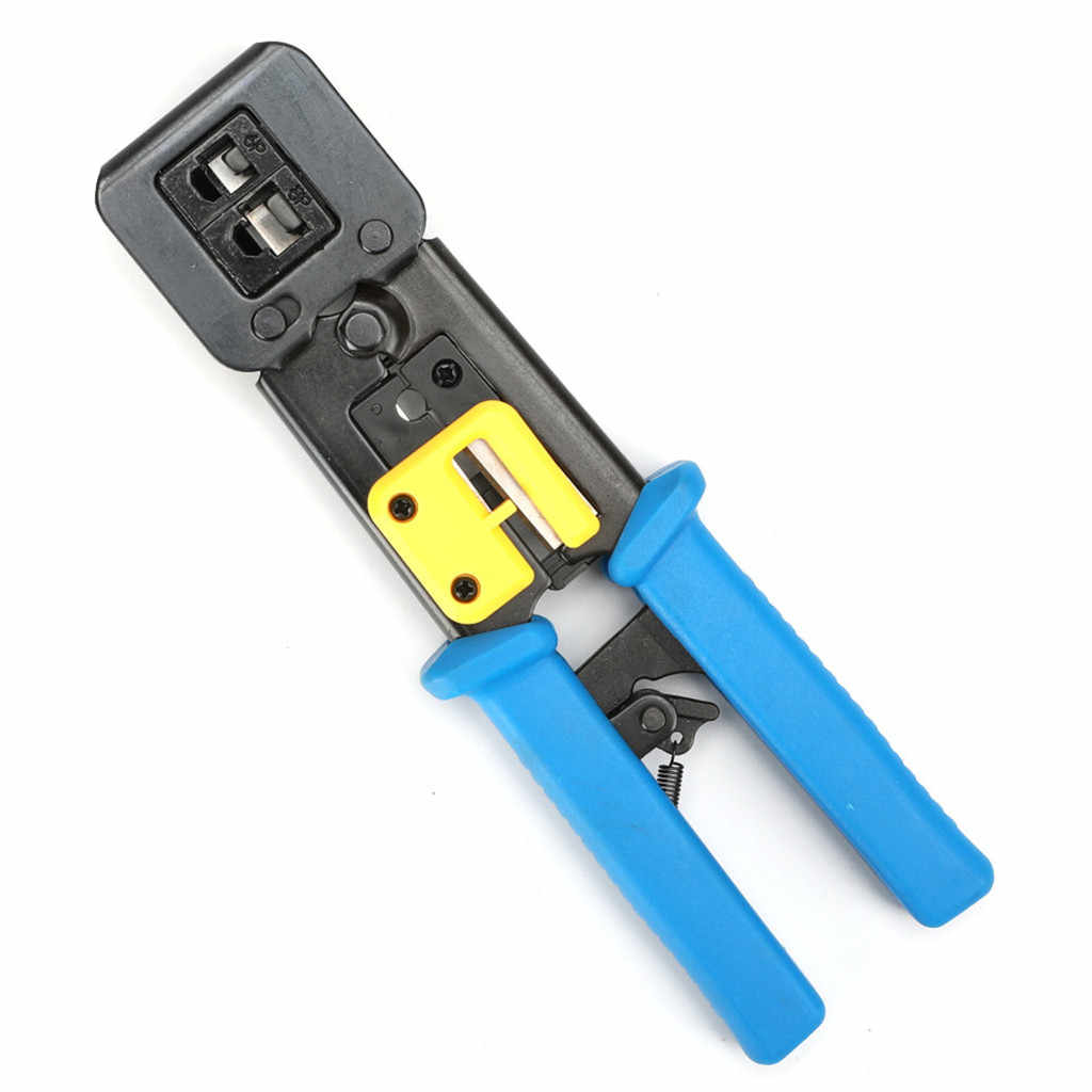 New RJ45 Crimp Tool Stripping Artifact Electrician Automatic Stripping Twisting Line crimping pliers for EZ straight RJ11 RJ12