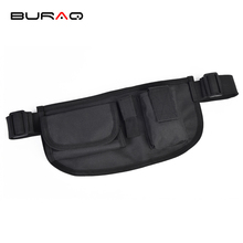 BURAQ Portable Outdoor Tactical Belt Waist Bag Water Resistant Mobile Phone Wallet Travel Military Sport Waist Pack