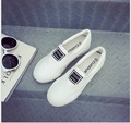 2017 han edition platform canvas shoes women increased  loafers recreational flat students cloth shoes