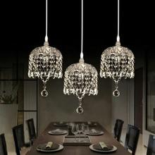 Модный прозрачный/серый/Янтарный K9 хрустальный подвесной светильник DIY домашний декор для гостиной стеклянная тарелка E14 светодиодный подвесной светильник