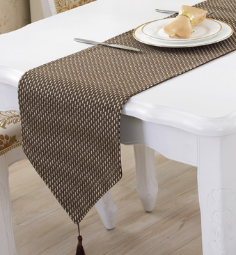 Modern Concise Style Table Runner Solid Color Cotton Linen Weave Kitchen Table Cloths Decorative Table Cloth Table Runners