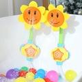 Детская игрушка для ванны  ванна для купания  смеситель для душа Подсолнух  спрей для воды  плавания  ванной  игрушки для детей  забавная игра...