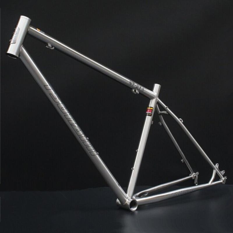Reynolds 520 CR MO acero MTB bicicleta marco 27,5 \