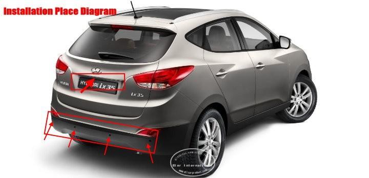 Hyundai-IX35-BIBI Alarm Parking System