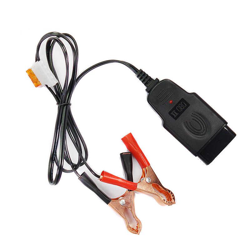 Profesjonalny uniwersalny akumulator samochodowy OBD2 narzędzie zamienne komputer samochodowy ECU MEMORY Saver Auto zasilanie awaryjne kabel