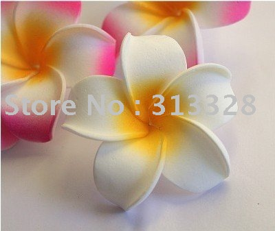 Free shipping simulation silk flowers plumeria flower headsdecor free shipping simulation silk flowers plumeria flower headsdecor flowers holiday decorations mightylinksfo