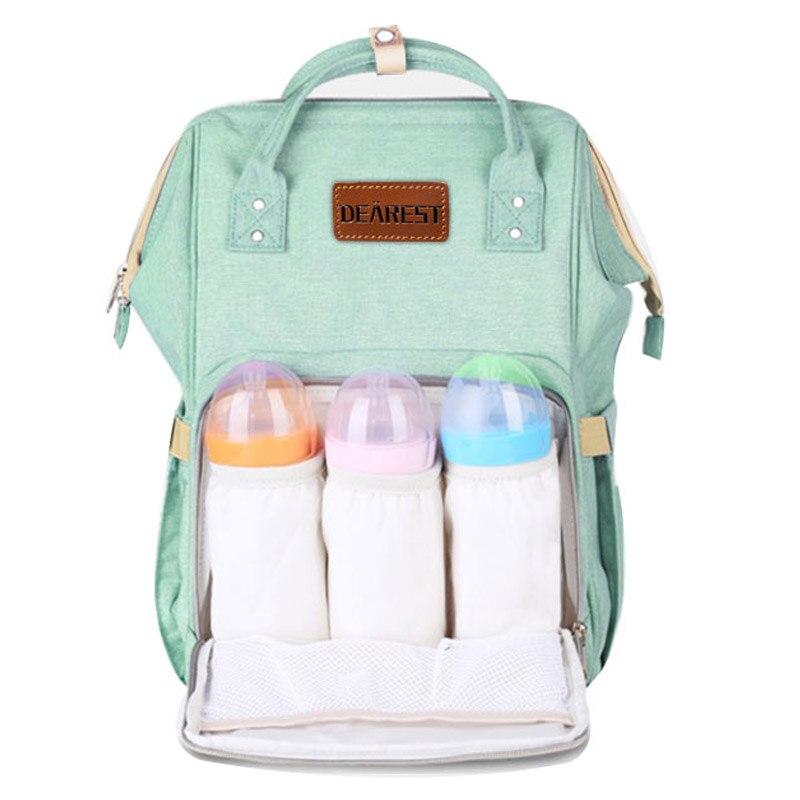 Bolsa de pañales de bebé momia maternidad bebé bolsa de pañales - Pañales y entrenamiento para ir al baño - foto 3