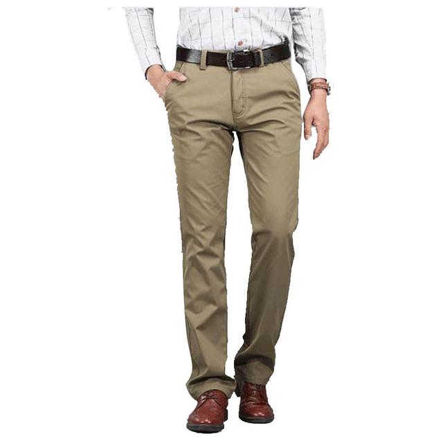 Otoño E invierno envío gratis nuevos hombres de negocios informales pantalones de terciopelo, más Gruesa de algodón recto pantalones de algodón de abrigo 68yw