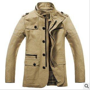 795934aa3a0 New spring 2014 coats men fashion design hot sale cotton male jackets for men  XXL XXXL men s style outerwear   coats BJM009