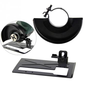 Черное Основание для режущей машины, металлическая защита для колеса, защитный чехол для угловой шлифовальной машины