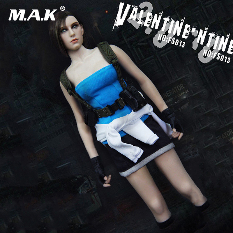 Collectible 1/6 Scale FS013 Resident Evil Jill valentine Game Ver. Figure Model Full Sets Figure Doll Toys Gift For Collection 1 6 scale figure doll jurney to the west monkey king with 2 heads 12 action figures doll collectible figure model toy gift