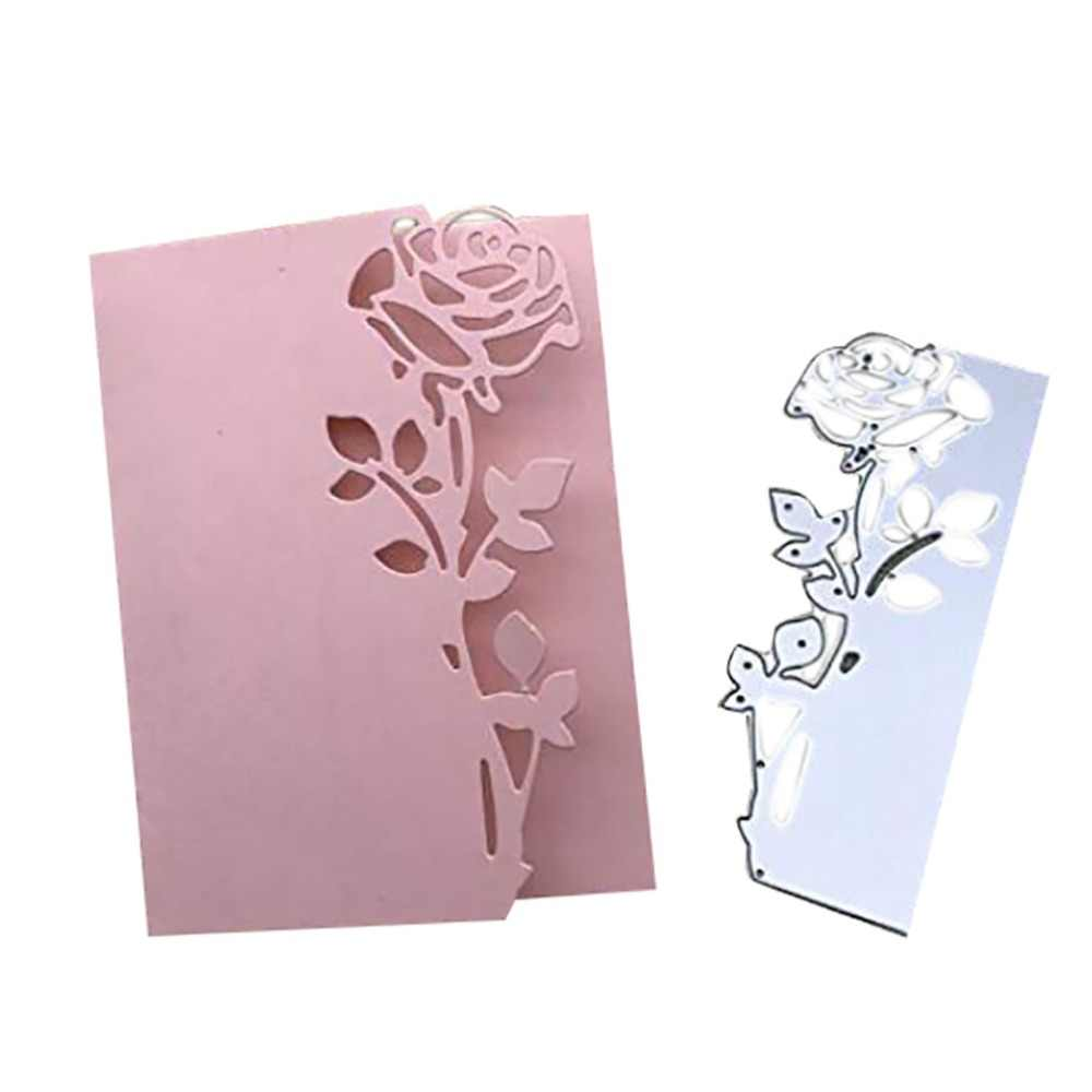 New Design Craft Metal Cutting Dies cut die new flower decoration Scrapbooking Album Paper DIY Card Craft Embossing Die Cuts #F