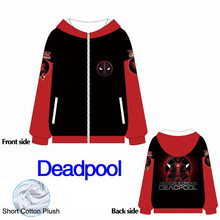 Fans Made Deadpool 2019 Unisex Cotton Hooded Sweatshirt Anime Dragon Ball Uniform 3D Hoodies Cute Cartoon Cosplay Costume Hoodie