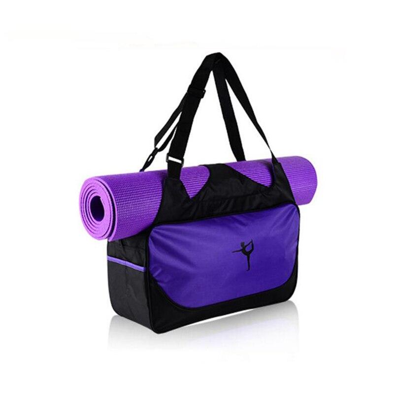 Moderate Price no Yoga Mat Yoga Mat Bag Waterproof Backpack Shoulder Messenger Sport Clothes Duffel Bag For Womens Fitness Gym Bag
