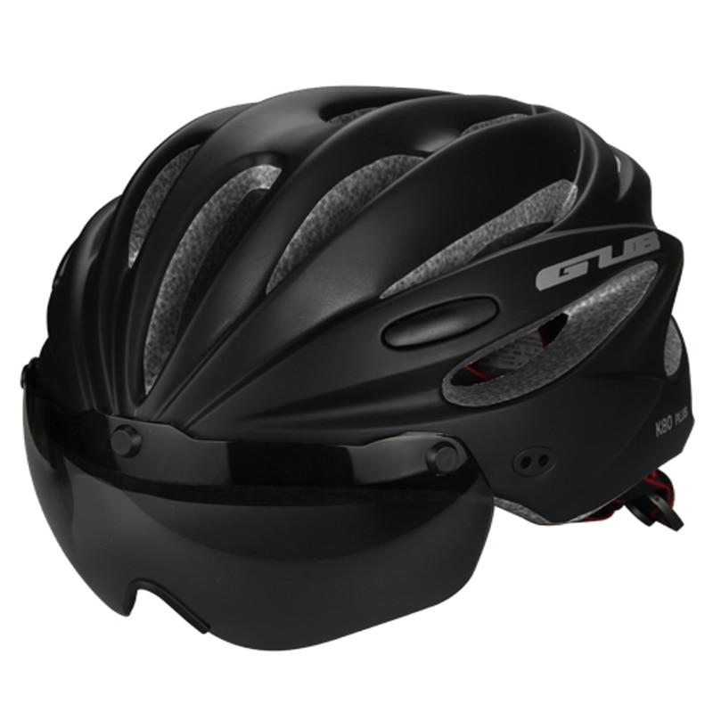 GUB Top Magnetic Goggles Cycling font b Helmet b font Ultralight Bicycle font b Helmet b