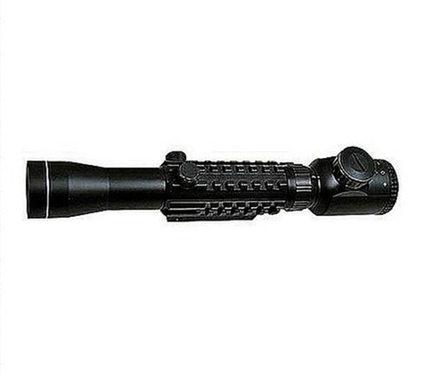 oxota Tactical 3 9X40E Tri Rail Red font b Rangefinder b font Rifle Scop hunting rifle