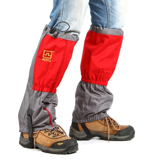 Warm Outdoor Leg Cover Waterproof Legging Gaiters Hiking Camping Climbing Equipment Hunting Trekking Leg Snow Cover PA15120201