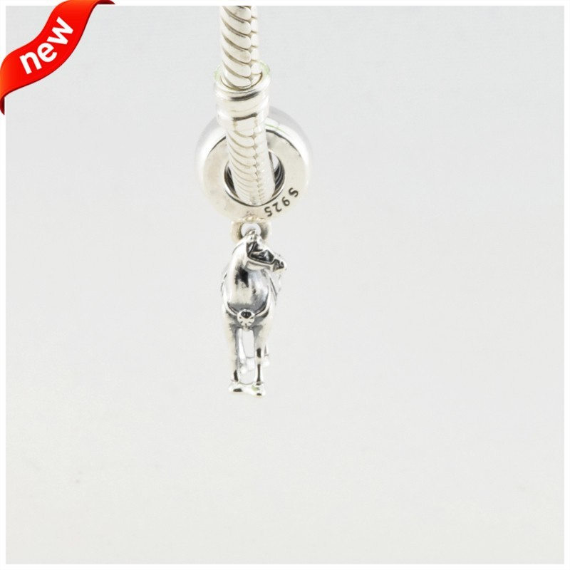 Disny Maximus Beads Fits Pandora Charms Bracelet Animal Horse Beads Original 925 Sterling Silver Jewerly 2016 Spring Collection  (1)