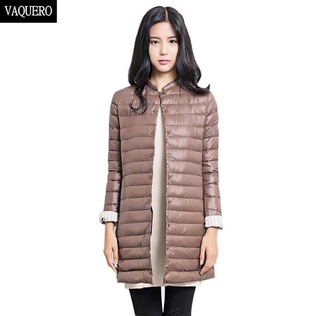 New Wadded Winter Jacket Women Cotton Long Jacket 2016 Fur Slim Padded Coat Outwear High Quality Warm Chaquetas Parka Feminina