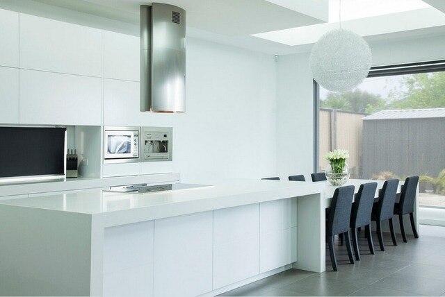 Top Design Keukens : Top design hoogglans wit lak moderne keuken kasten