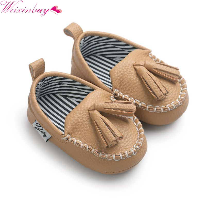 Brand Baby PU Leather Shoes Infants Girl
