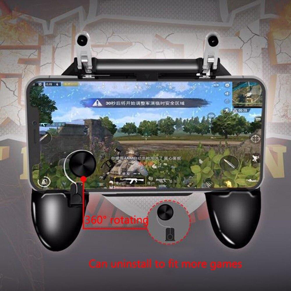 Mobile Phone Gaming Gamepad Fortnit Free Fire Shooter PUGB Mobile Game Controller Game pad Joystick Metal L1 R1 Trigger