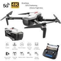 SG906 5G 1080P 4K HD WiFi Kamera Faltbare FPV RC Drone RTF GPS Folgen Mir/Hand geste Schießen 23 minuten Flugzeit RC Hubschrauber-in RC-Hubschrauber aus Spielzeug und Hobbys bei