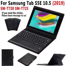 TouchPad Tastiera per il Caso di Samsung Galaxy Tab S5E 10.5 2019 SM T720 SM T725 T720 T725 Della Copertura di Cuoio Astuta Stacca Tastiera + penna