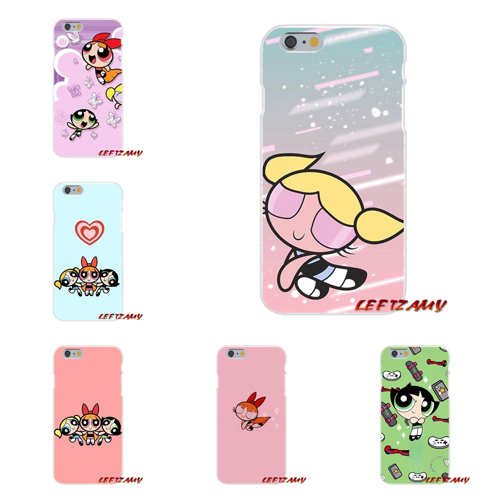 For Samsung Galaxy S3 S4 S5 MINI S6 S7 edge S8 S9 Plus Note 2 3 4 5 8 Powerpuff Girls Justice League Soft Transparent Shell Case